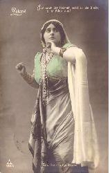 Kauffmann, Hedwig Franzillo  Ansichtskarte mit Abbildung der Schauspielerin