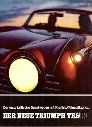 Leyland Triumph  Der neue Triumph TR5/PI (Der erste britische Sportwagen mit Kraftstoffeinspritzung...)