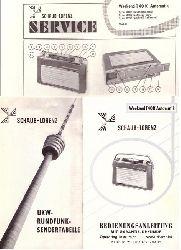Schaub-Lorenz  Schaub-Lorenz Weekend T 40 K Automatik (Bedienungsanleitung + Schaltplan mit technischen Daten + UKW-Rundfunk-Sendertabelle)
