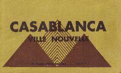 .  Casablanca. Ville Nouvelle (10 Vues detachables Serie II (Ansichtskarten)