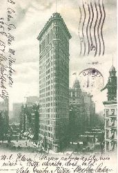 Ansichtskarte New York. Flatiron Building
