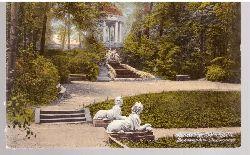 Ansichtskarte Schwetzingen Schloßgarten (Meerweibchen und Apollotempel)