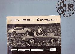 Werbebroschüre Das Porsche 911 Konzept (Marken Weltmeister 1969/1970)