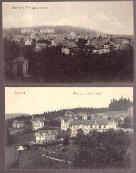 3 Ansichtskarten. Oberhof im Thüringer Wald (Totalansicht)