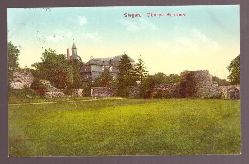 Ansichtskarte. Siegen. Oberes Schloss