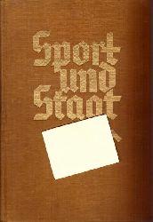 Baeumler, Alfred; Arno Breitmeyer und P.G. Hoffmann  Sport und Staat Erster (1.) Band (i.A. des Reichssportführers hg.)