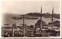 Ansichtskarte AK Istanbul. Saray Burnu. Point du Sarai (Karte von der American Embassy in Istanbul an eine Frau Sitzler)