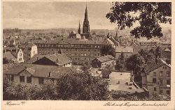 Ansichtskarte Ak Hagen. Blick auf Hagen und Marienhospital
