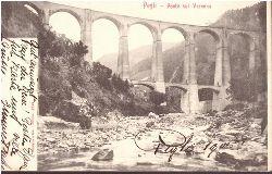 Ansichtskarte Ak Pegli. Ponte sul Varenna