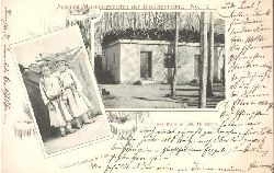 Ansichtskarte AK Schulhaus in Leh, Himalaya / Christenknaben in Leh