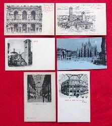 6 Ansichtskarten / 1.  AK Chiesa di S. Satiro