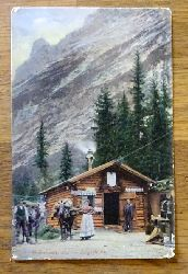 Ansichtskarte AK Unterkunftshaus Angerhütte