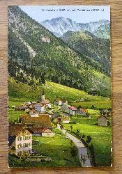 Ansichtskarte AK Hinterstein mit Gaishorn