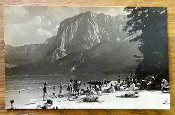 Ansichtskarte AK Altaussee. Strandbad