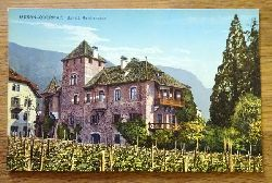 Ansichtskarte AK Meran-Obermais. Schloß Reichenbach