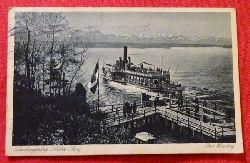 Ansichtskarte Ak Landungsplatz Schloss Berg
