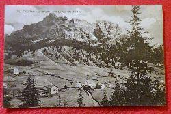 Ansichtskarte AK St. Cassian im Abteital mit La Varella 3060m (Südtirol)