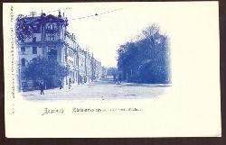 Ansichtskarte AK Augsburg. Bismarckstrasse (Momentaufnahme)