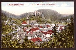 Ansichtskarte AK Kurort Berneck im Fichtelgebirge (Leipzigerchrom)
