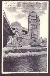 Ansichtskarte AK Duisburg-Ruhrort. Brückenkopf