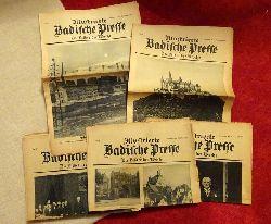 Badische Presse  Illustrierte Badische Presse Nr. 1, 10, 11, 13, 16, 17, 19, 20, 21, 24, 34, 35, 36 / 1925 (Die Bilder der Woche; Anm.: Beilage zur Badischen Presse)