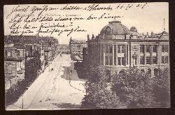 Ansichtskarte AK Mannheim. Tullastraße und Gymnasium
