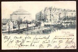 Ansichtskarte AK Gruss aus Mannheim. Panorama und Ringstrasse