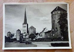 Ansichtskarte AK Tallinn. Stadtbefestigung von Westen