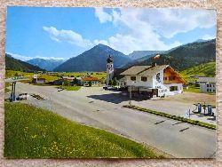 Ansichtskarte AK Achenkirch am Achensee, Tirol. ARAL-Tankstelle