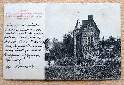 Ansichtskarte AK Xanten. Pesthaus in spätgotischen Formen....