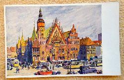 Ansichtskarte AK Das schöne Breslau. Rathaus (van Hout)