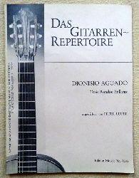 Aguado, Dionisio  Trois Rondos Brillants (eingerichtet v. Peter Leube)
