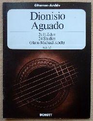 Aguado, Dionisio  24 Etüden / 24 Studies (Hans Michael Koch)