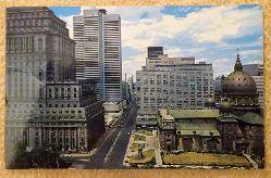 """Ansichtskarte AK Montreal. Dorchester Street (La Ville de L`Exposition Universelle"""" 1967, Worlds Fair City)"""