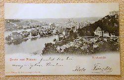 Ansichtskarte AK Gruss aus Passau. Totalansicht