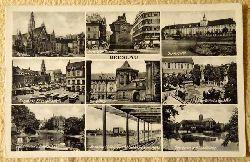 Ansichtskarte AK Breslau. 9 Motive