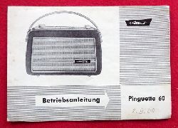 Akkord  Betriebsleitung Akkord Koffer / Autoradio Pinguette 60