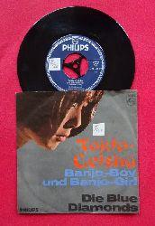 Die Blue Diamonds  Tokio Geisha / Banjo Boy und Banjo Girl (Single-Platte 45 UpM)