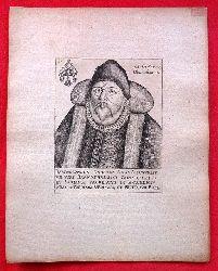 Kupferstich Bartholomäus Rademan (1510-1580)