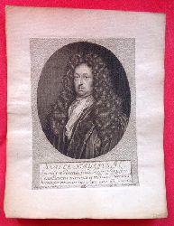 Kupferstich Samuel Strykius von Bernigeroth nach G.B.v. Sand