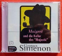 """Simenon, Georges  CD. Maigret und die Keller des """"Majestic"""""""