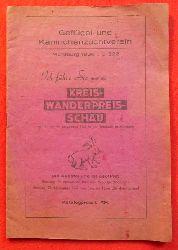 Geflügel- und Kaninchenzuchtverein Mühlburg 1936 (Ausstellung am 22. und 23. November 1947 in der Turnhalle Mühlburg)