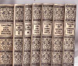 Tagore, Rabindranath  Gesammelte Werke Band 1-8 (ohne Band 4 Erzählungen)
