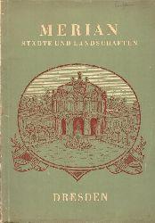 """""""Merian"""" Städte und Landschaften (2. Jg. Heft 12 - Dresden)"""