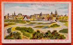 Reklamebild /  Kaufmannsbild / Sammelbild Fr. David Söhne, Halle (Serie 32 Bild No. 103 Deutsche Geschichte in Bildern (1640-1688 Berlin unter dem grossen Kurfürsten)