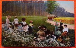 Ansichtskarte AK Fröhliche Pfingsten (Picknickgesellschaft)