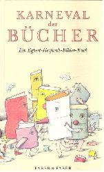 Herfurth, Egbert:  Karneval der Bücher (Ein Egbert-Herfurth-Bilder-Buch von A - Z)  1. Auflage