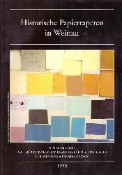 Beyer, Jürgen  Historische Papiertapeten in Weimar