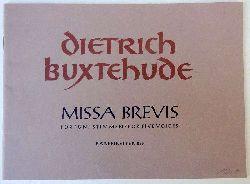 Buxtehude, Dietrich  Missa Brevis für fünf Stimmen / for Five Voices (Hg. Willibald Gurlitt)
