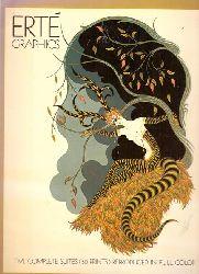 Erté  Erté Graphics Five complete Suites (50 Prints) reproduced in full color
